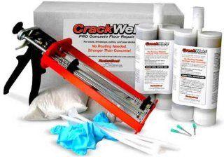 CrackWeld PRO Concrete Floor Repair Kit