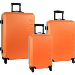 Nautica Luggage Ahoy 3 Piece Hard Side Spinner Outer Shell