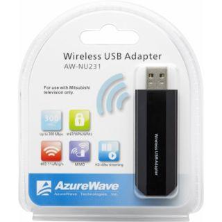 Mitsubishi AW NU231 IEEE 802.11n (draft)   Wi Fi Adapter