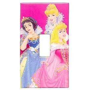 Disney Princess Smart Tiles Light Switch Cover (Toggle)