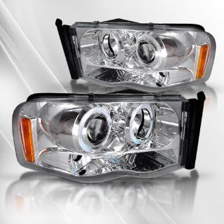 Dodge Ram 1500 02 03 04 05/2500&3500 03 04 05 Projector Headlights /w