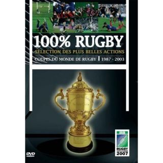 DVD DOCUMENTAIRE DVD 100% rugby  selection des plus belles actions