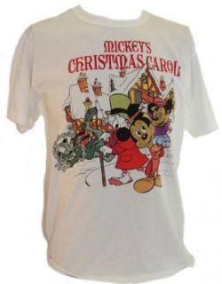 Mickey Mouse Mens T Shirt   Mickeys Christmas Carol