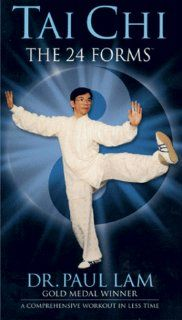 Tai Chi   The 24 Forms [VHS]: Paul Lam: Movies & TV