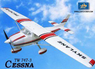 New 6 CH 2.4GHz Cessna 182 Skylane Radio Remote Control RC