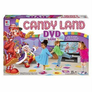 Candy Land DVD Game: Toys & Games
