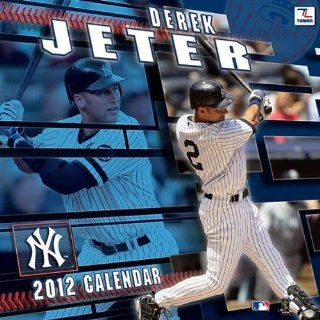 Derek Jeter 2012 Wall Calendar 12 X 12 Office Products