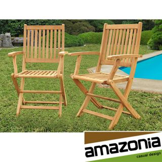 Terra Teak Dining Armchairs (Set of 2) Today $239.99 4.3 (3 reviews