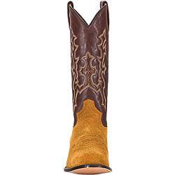 Lane Rough Suede Mens Cowboy Boots