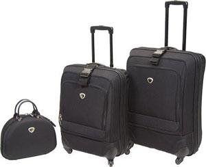 International Traveler Ion Spinner 3pc Luggage Set
