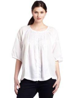 Calvin Klein Jeans Womens Plus Size Dolman Sleeve Shirt