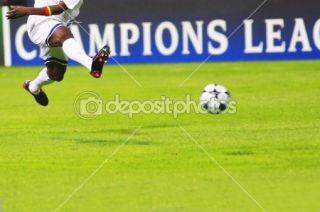 Flying soccer player  Stock Photo © Ivan Tykhyi #1025923