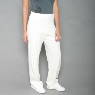 Jones New York Womens White Sugar Sweatpants