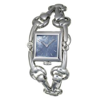 Gucci Womens 116 Signoria Stainless Steel Quartz Watch