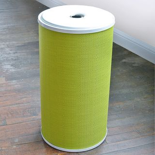 1530 Lamont Home Lime Green Round Hamper