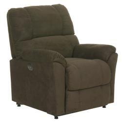 Baldwin Brown Fabric Power Lift Chair/Recliner