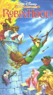 Robin Hood [VHS] Brian Bedford, Phil Harris, Roger Miller