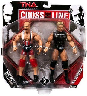 TNA Wrestling Cross the Line Series 3 Action Figure 2Pack