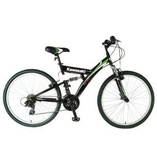 KDX126FS Mens Dual Suspension 21 Speed Mountain Bike