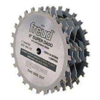 Freud SD508 Dado Blade Set, Dia 8 In, Arbor 5/8