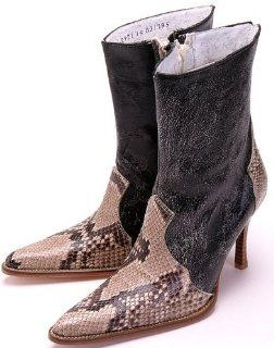 belly Leather Dress Womens Cowboy Boots Western Style 21319 Shoes