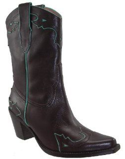 Sam Edelman Percy Womens Brown Western Boots Shoes
