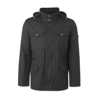 Ben Sherman Military Mens Black Jacket (X Large