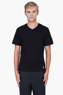 Billionaire Boys Club Black Classic V neck T shirt for men
