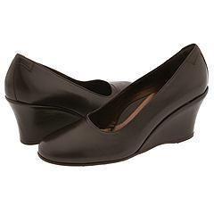Taryn Rose Drewal Chocolate Nappa Pumps/Heels