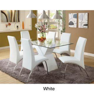 Marion Rectangular Glass Top Dining Table