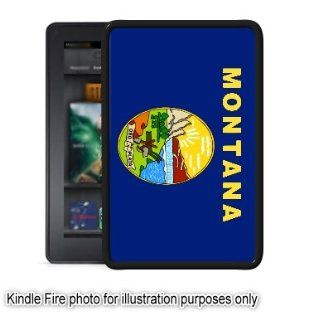 Montana State Flag Kindle Fire Black Case Cover Skin