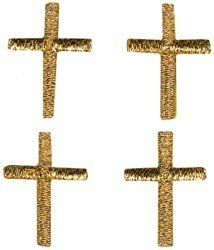Gold Cross 4/Pkg 193 793 5001; 3 Items/Order Arts, Crafts & Sewing