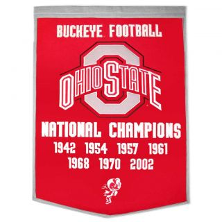 Ohio State Buckeyes NCAA Football Dynasty Banner