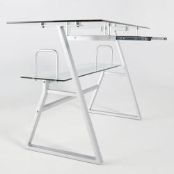 Umah Glass Computer Desk
