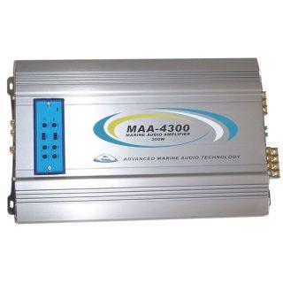 Access Technologies 300 watt 4 channel Outdoor Patio/Marine Audio