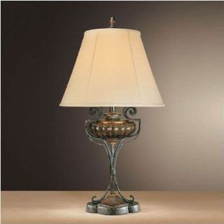 Ambience 12346 194, Sanguesa Tall Glass Table Lamp, 1 Light, 150 Total