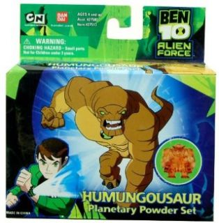 Ben 10 Alien Force Figure Humungousaur Planetary Powder