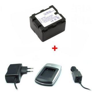 BATTERIE / CHARGEUR / ADAPTATEUR Chargeur + Batterie pour Panasonic VW