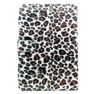 Kroo Kindle 3 Wi Fi 3G Leopard Print Case with Cover and Pen Holder