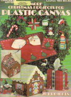 : More Christmas Projects For Plastic Canvas 194: Leisure Arts: Books