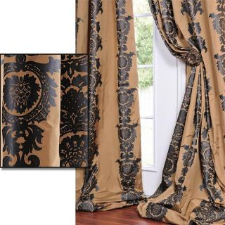 Ralston Desert Patterned Faux Silk 120 inch Curtain Panel