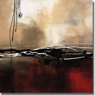 Laurie Maitland Symphony in Red and Khaki I Canvas Art Today $141