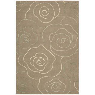 Cambria Beige Wool Blend Rug (8 x 10)