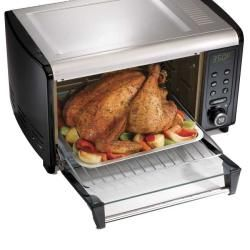 Hamilton Beach 31151 Digital Convection Oven with Easy Clean Interior