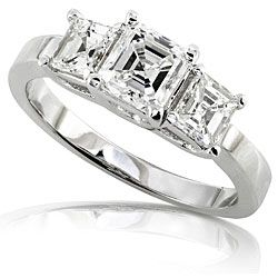 14k Gold 1 3/4ct TDW Certified Diamond Engagement Ring (F, SI1