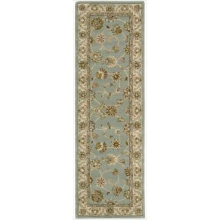 Hand tufted Caspian Blue Wool Rug (23 x 76) Today $88.99 5.0 (1