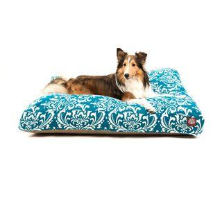 Majestic Pet Ocean French Quarter Rectangle Pet Bed