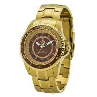 Original Penguin Mens Johnny Gold Ion plated Stainless Steel Watch