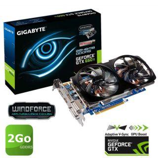Carte graphique Nvidia GTX 660 Ti   GPU cadencé à 941MHz   GPU Boost