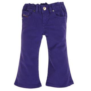 DIESEL Pantalon Bébé Fille violet   Achat / Vente PANTALON DIESEL